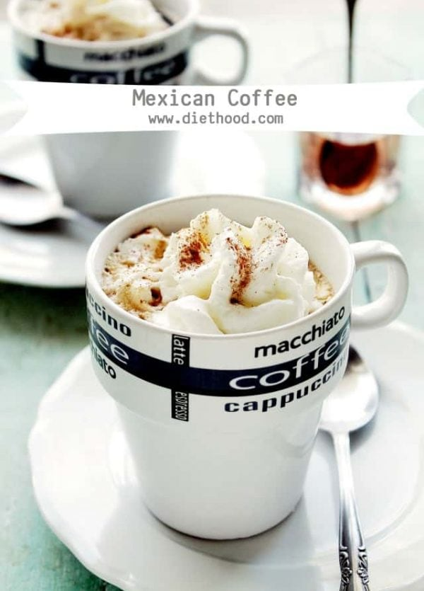 Mexican Coffee at www.diethood.com