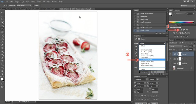 Photoshop Levels Food Photography: How To Edit Photos In Photoshop