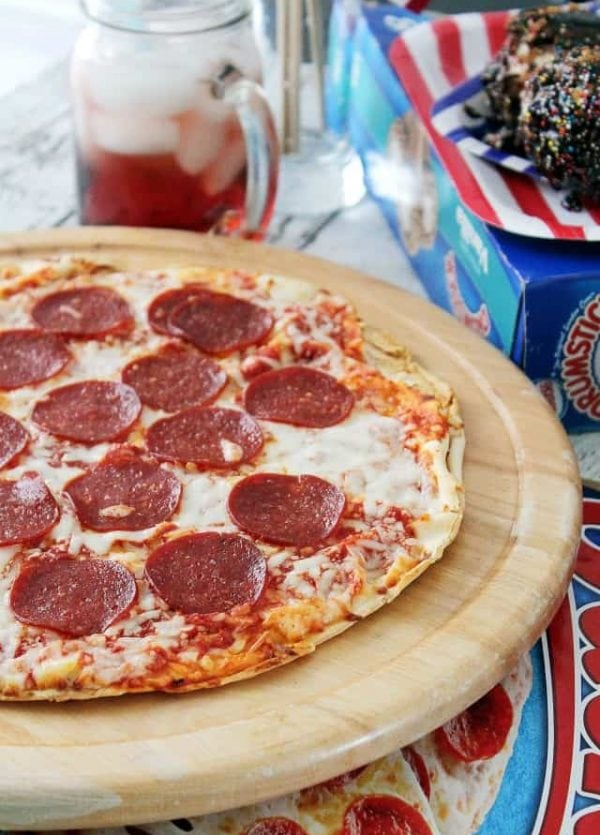 Jack's Pizza and Summertime Food at www.diethood.com