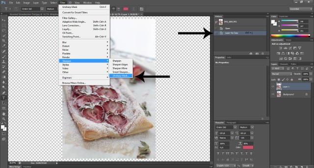 Screenshot Photoshop Food Photography: How To Edit Photos In Photoshop