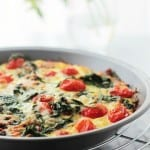 Hashbrowns, Spinach and Tomato Pie   www.diethood.com   Hashbrowns, Spinach and Tomato Pie is the perfect addition to your Easter Brunch Menu!   #recipe #OreIdaHashbrown #shop #cbias