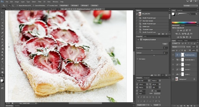 Tutorial Photo Screenshot  Food Photography: How To Edit Photos In Photoshop