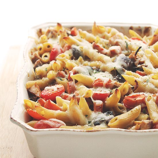 Chicken Vegetable Pasta Recipe One Pot Turkey Sausage and Noodles