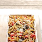 Chicken and Vegetables Pasta Bake