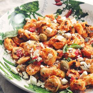 Mediterranean Tortellini Salad