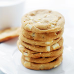 White Chocolate Chunk Cookies {Mrs. Field's Copycat}