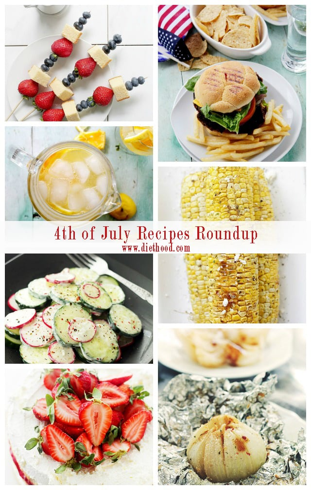 4th of July Recipes | www.diethood.com
