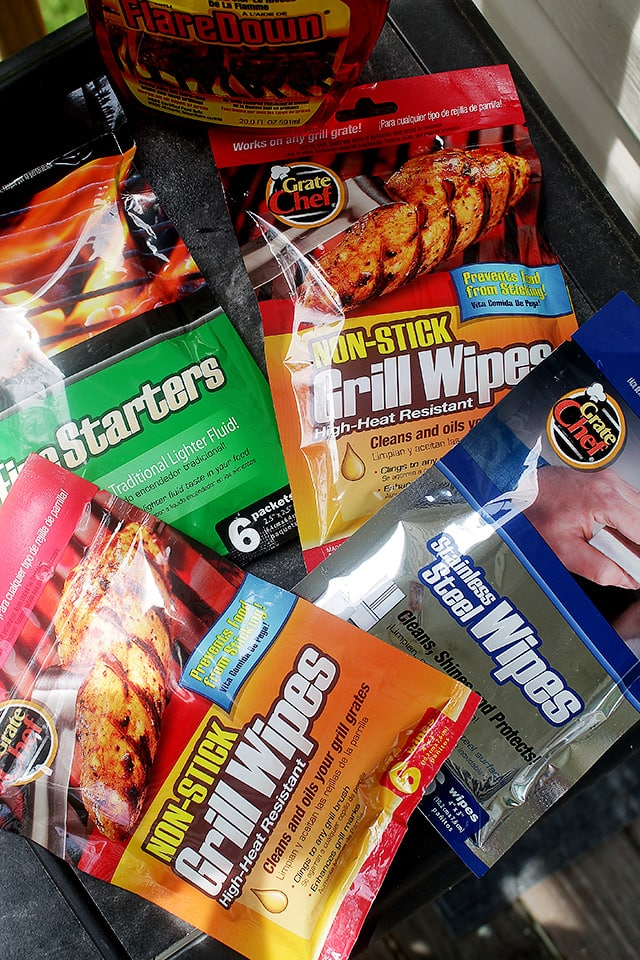 Grate Chef Grill Wipes at Diethood
