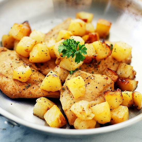 Hawaiian Baked Chicken Recipe Healthy Chicken With Pineapple Recipe