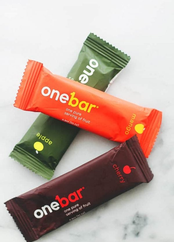 OneBar | www.diethood.com | Favorite On-The-Go Snack.