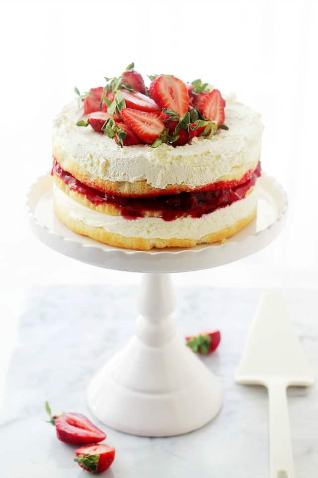 How To Make Strawberry Shortcake Cake Filling