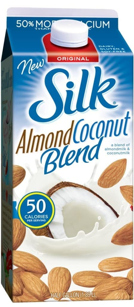 Almond-Coconut Frappé   www.diethood.com   Made with Silk's Almond-Coconut Blend, you can indulge in this very delicious Frappé without the guilt! #recipe #coffee #SilkAlmondBlends