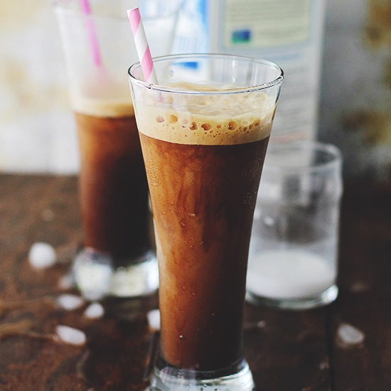 Almond Coconut Frappe Recipe by Diethood Almond Coconut Frappe | Thingamajig Tuesdays