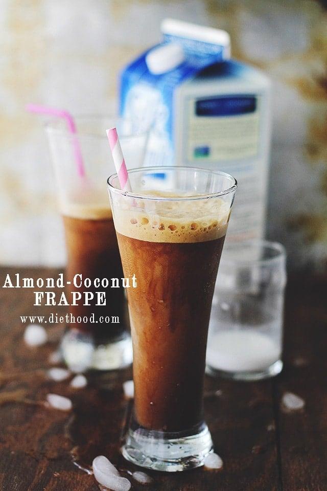 Almond Coconut Frappe Almond Coconut Frappe | Thingamajig Tuesdays