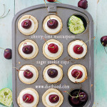 Cherry-Lime Mascarpone Cookie Cups