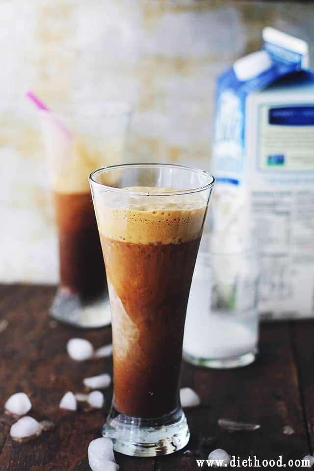 Frappe with Almond Coconut Milk Almond Coconut Frappe | Thingamajig Tuesdays