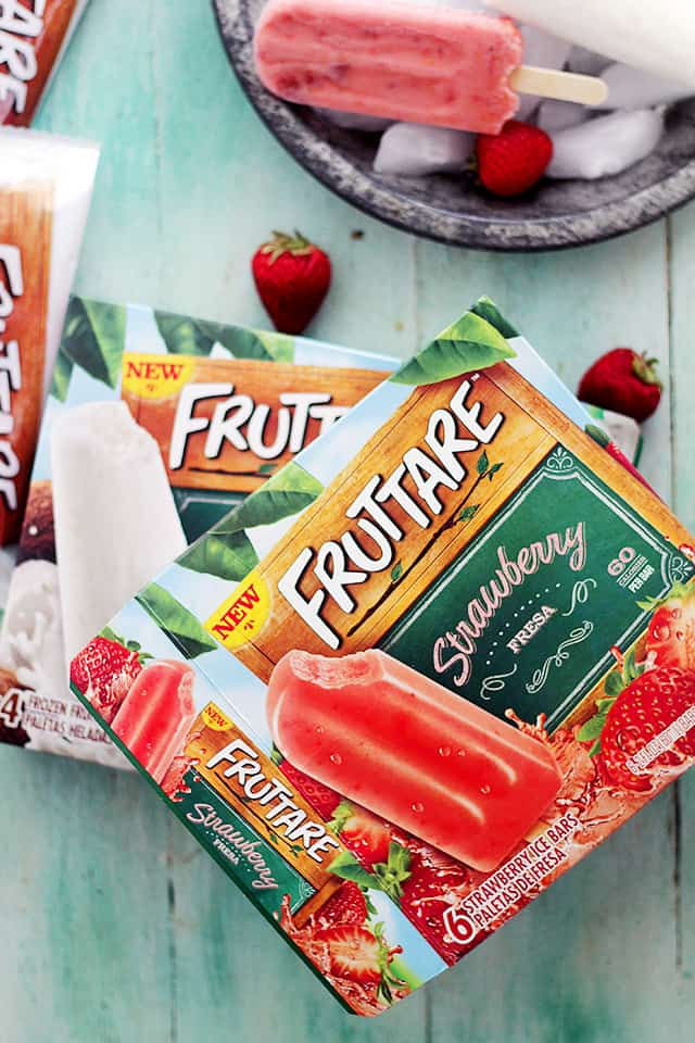 Fruttare Frozen Fruit Bars | www.diethood.com