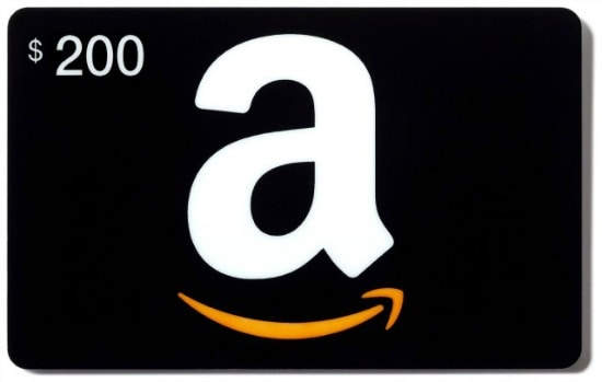 $200 amazon gift card