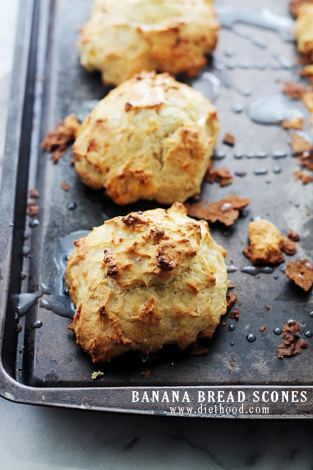 Banana Bread Scones : The sweet and delicious taste of Banana Bread in ...