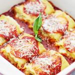 Cheesy Zucchini Lasagna Rolls