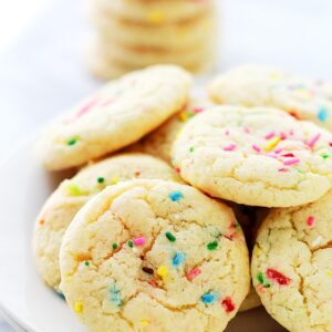 Cake Batter Funfetti Cookies | Sally's Bridal Shower