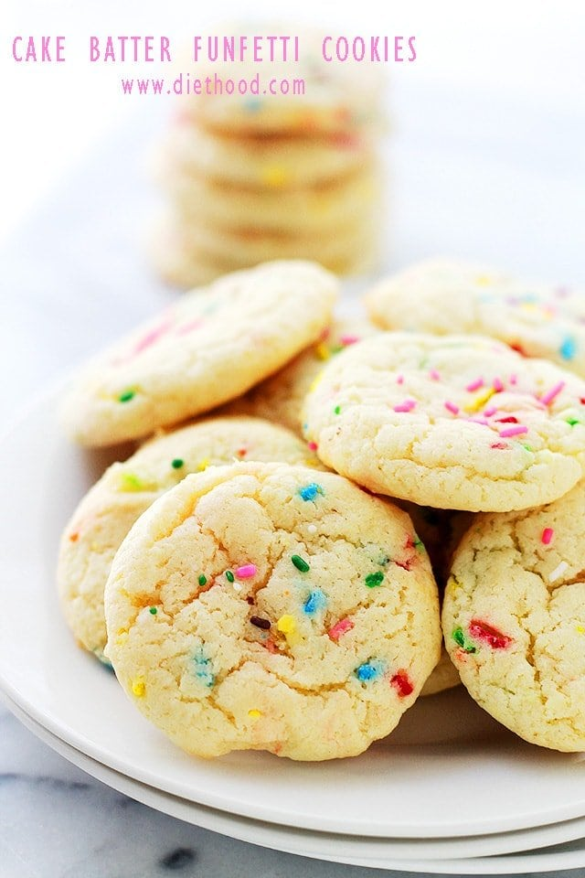 Recipe Cookies Made Funfetti Cake Mix