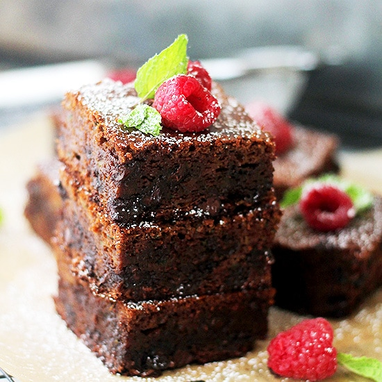 Gluten Free Zucchini Brownies Recipe Gluten Free Double Chocolate Zucchini Brownies