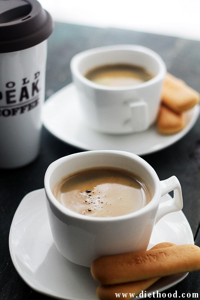 Gold Peak Coffee at Diethood