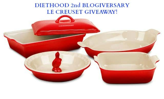 Le Creuset Giveaway | www.diethood.com