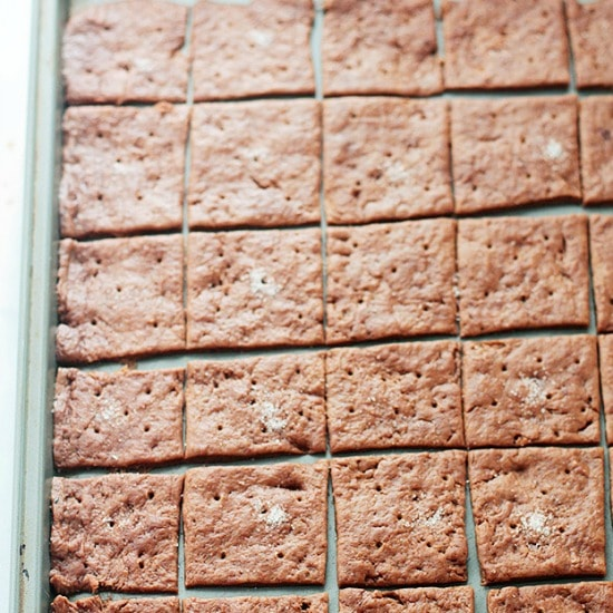 Salted Crackers with Chocolate Recipe Chocolate Crackers