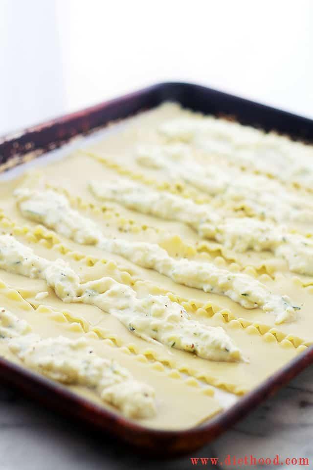 Zucchini Lasagna Rollups Cheesy Zucchini Lasagna Rolls