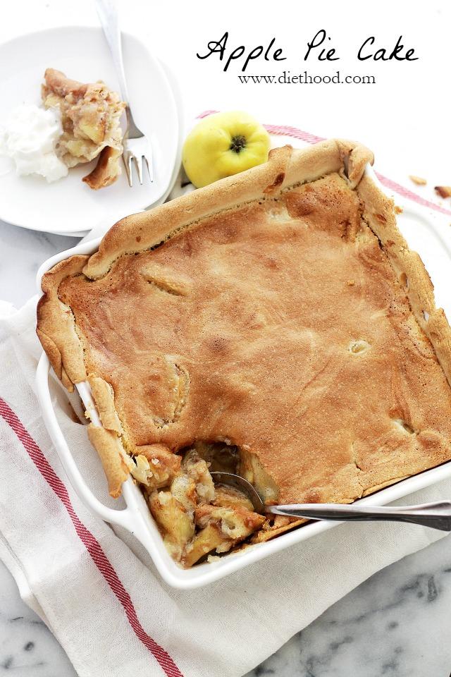 Apple Pie Cake Recipe Diethood