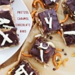Chocolate Caramel Pretzel Bars