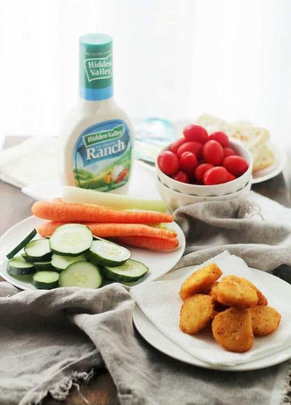 Hidden Valley Ranch and Veggies - Delicious, mouthwatering recipes made with Hidden Valley Ranch Dressing.