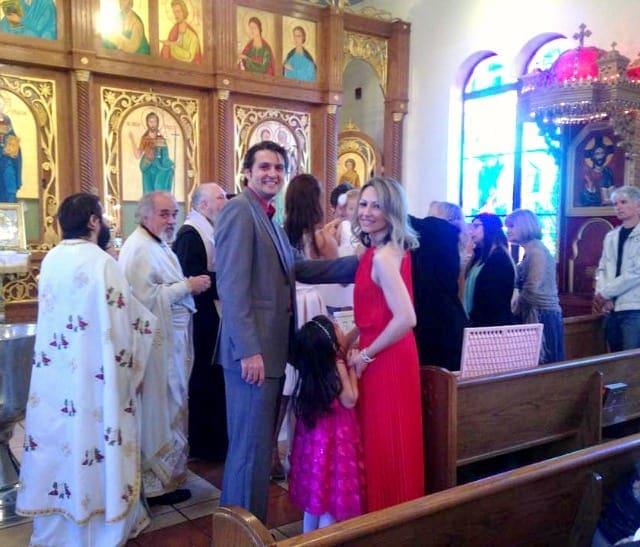 Aleksandra's Christening