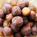 Baked Vanilla-Glazed Donut Holes
