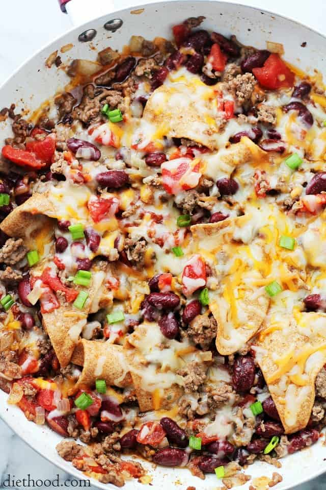 Skillet burritos recipe diethood skillet burritos diethood one skillet dinner ready in 30 forumfinder Image collections
