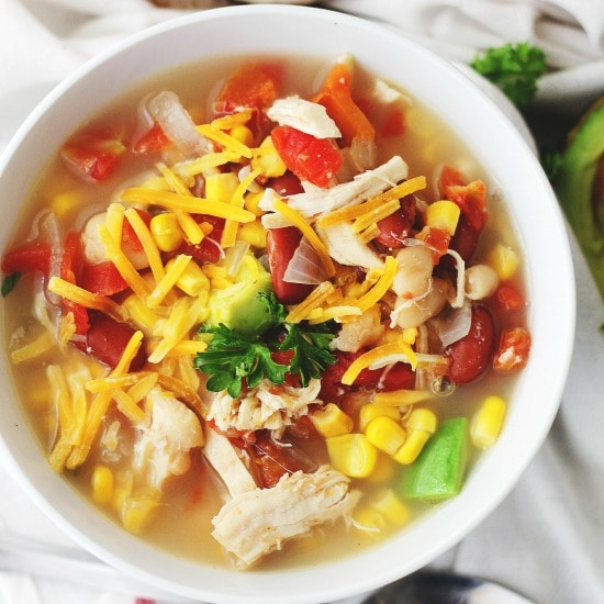 Crock Pot White Chicken Chili Recipe