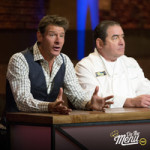 Emeril Lagasse and Ty Pennington