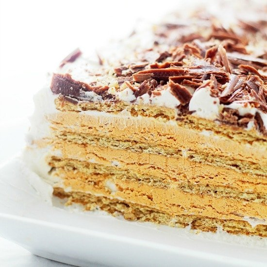 Pumpkin Mousse Ice Box Cake Recipe | Diethood