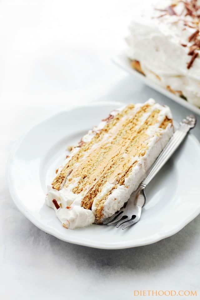 Pumpkin Mousse Ice Box Cake Recipe | Diethood