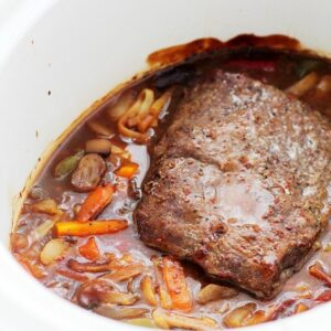 Slow Cooker Beef Stir Fry