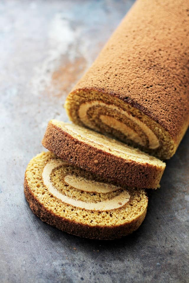 Recipe For Eggnog Cake Roll