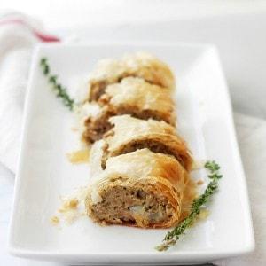 Turkey Meatloaf Wellington