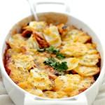 Chicken Enchilada Potato Casserole