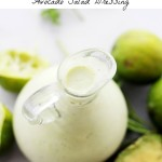 Light and Creamy Avocado-Lime Salad Dressing + $50 Visa Gift Card Giveaway