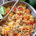 Ranch-Chicken Fajita Bowls