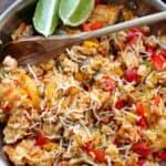 Easy Chicken Fajita Bowl Recipe