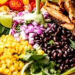 avocado lime salad dressing pinterest image
