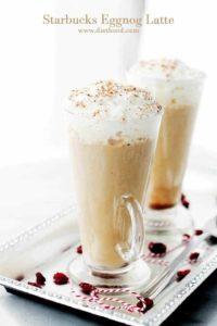 Starbucks Eggnog Latte Recipe | Christmas Morning Coffee Recipe